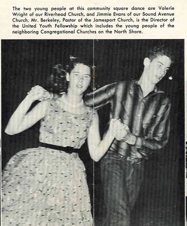 community dance 1956