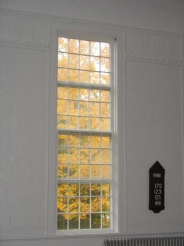 Meeting House windows